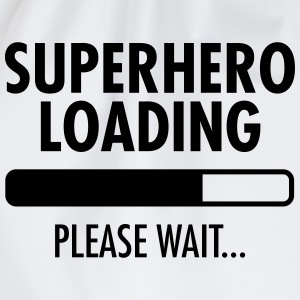 Superhero Loading- Please Wait... Felpe - Sacca sportiva