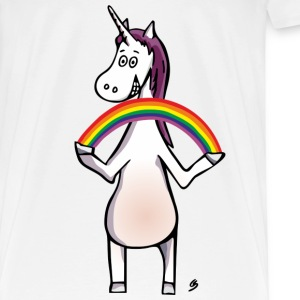 Magic Unicorn - Unicorn and Rainbow Vêtements Sport - T-shirt Premium Homme