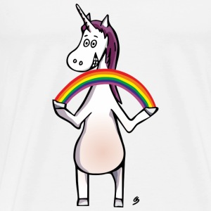 Magic Unicorn - Unicorn and Rainbow Ropa deportiva - Camiseta premium hombre