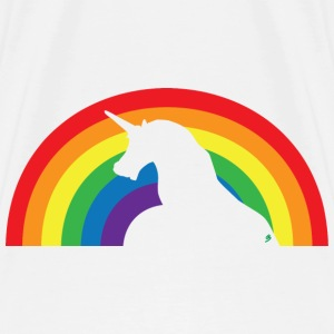 Unicorn and Rainbow Tops - Mannen Premium T-shirt