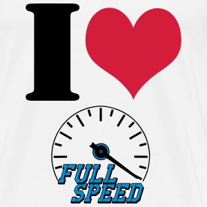 Full Speed Love Sportbekleidung - Männer Premium T-Shirt