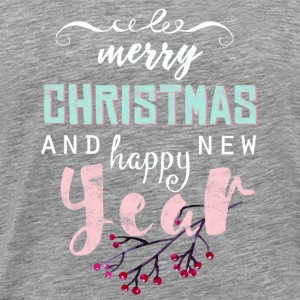 merry christmas text spruch - Männer Premium T-Shirt