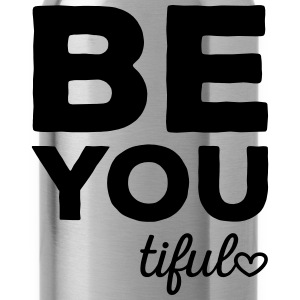 Be-You-Tiful Positive Quote Toppar - Vattenflaska