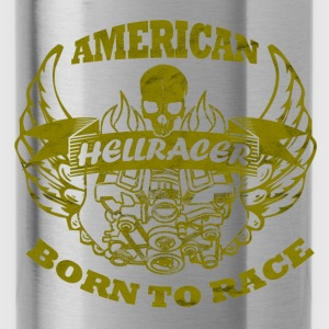 hell racer - Trinkflasche