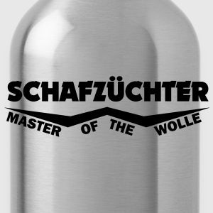 schafzüchter - master of the wolle T-Shirts - Trinkflasche