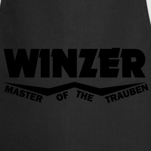 winzer - master of the trauben T-Shirts - Kochschürze