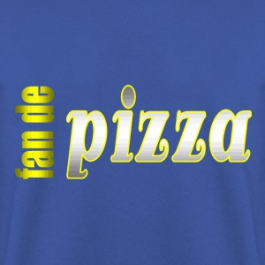 fan de pizza - Sweat-shirt Homme