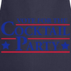 Vote for the Cocktail Party T-Shirts - Cooking Apron