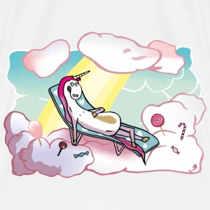 Happy unicorn in heaven Vêtements de sport - T-shirt Premium Homme