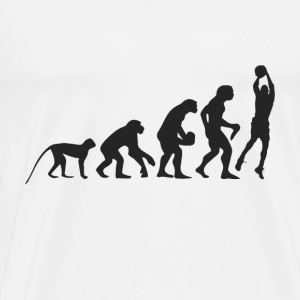 Evolution Basketball Tröjor - Premium-T-shirt herr