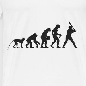 Evolution Baseball Vêtements de sport - T-shirt Premium Homme