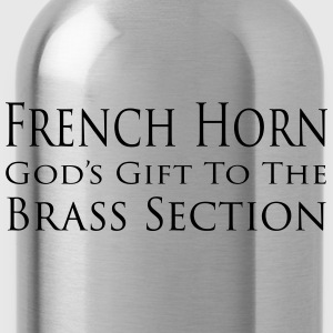French Horn God's gift to the Brass Section Tee shirts - Gourde