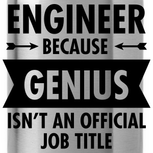 Engineer - Genius Felpe - Borraccia