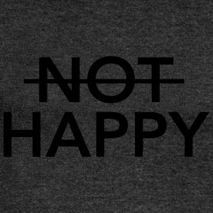 (Not) Happy Tee shirts - Pull Femme col bateau de Bella