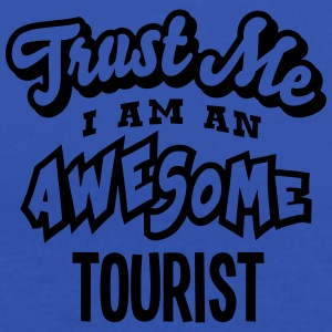 tourist trust me i am an awesome - Women's Tank Top by Bella