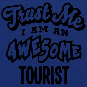 tourist trust me i am an awesome - Tote Bag