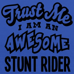 stunt rider trust me i am an awesome - Débardeur Femme marque Bella
