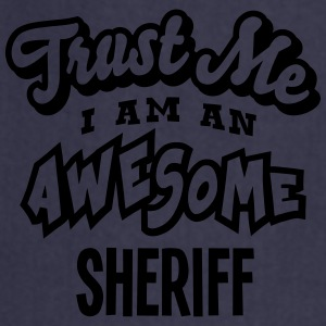 sheriff trust me i am an awesome - Tablier de cuisine