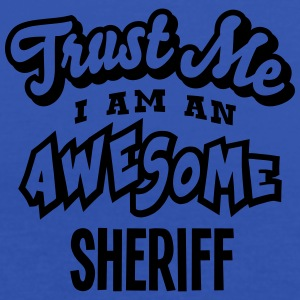 sheriff trust me i am an awesome - Women's Tank Top by Bella