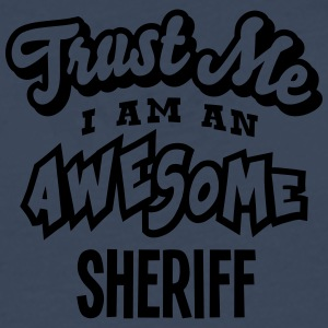sheriff trust me i am an awesome - T-shirt manches longues Premium Homme