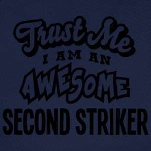 second striker trust me i am an awesome - Casquette classique