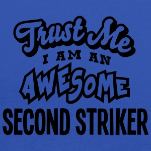 second striker trust me i am an awesome - Débardeur Femme marque Bella