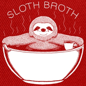 Sloth Broth White T-Shirts - Snapback Cap