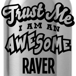 raver trust me i am an awesome - Water Bottle