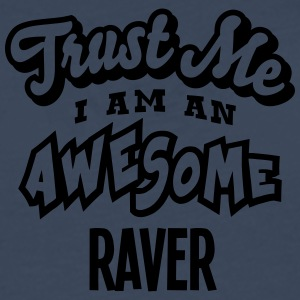 raver trust me i am an awesome - Men's Premium Longsleeve Shirt