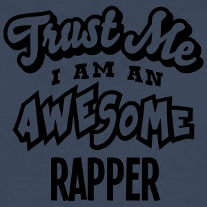 rapper trust me i am an awesome - Men's Premium Longsleeve Shirt