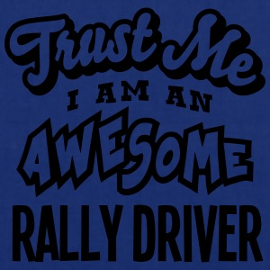 rally driver trust me i am an awesome - Tote Bag