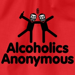 Alcoholics Anonymous AA T-Shirts - Drawstring Bag