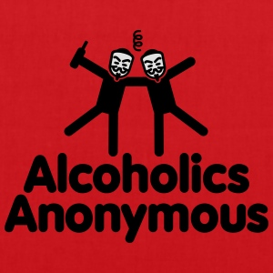 Alcoholics Anonymous AA T-skjorter - Stoffveske
