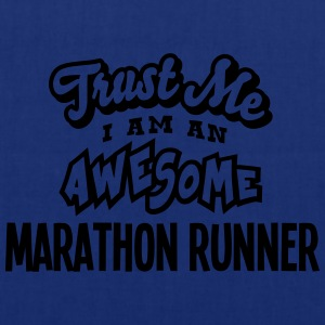 marathon runner trust me i am an awesome - Tote Bag