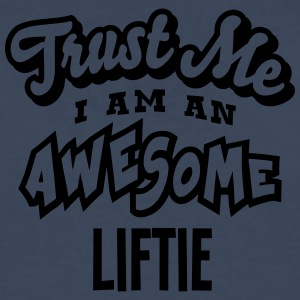 liftie trust me i am an awesome - T-shirt manches longues Premium Homme