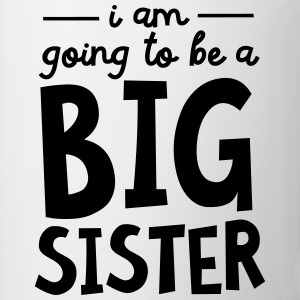 I Am going To Be A Big Sister T-shirts - Kop/krus