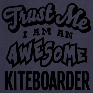 kiteboarder trust me i am an awesome - Tablier de cuisine
