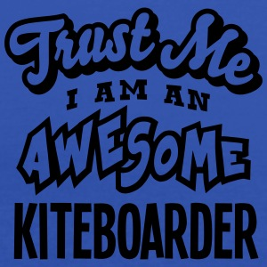 kiteboarder trust me i am an awesome - Débardeur Femme marque Bella