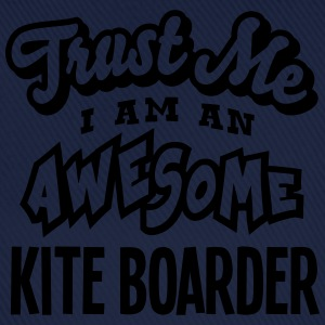 kite boarder trust me i am an awesome - Casquette classique