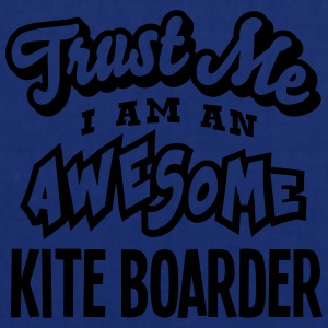 kite boarder trust me i am an awesome - Tote Bag