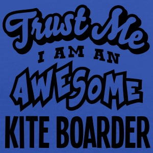 kite boarder trust me i am an awesome - Débardeur Femme marque Bella