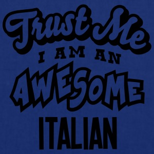 italian trust me i am an awesome - Tote Bag