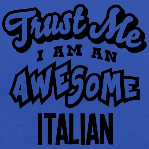 italian trust me i am an awesome - Women's Tank Top by Bella
