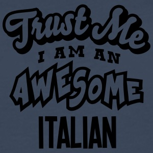italian trust me i am an awesome - Men's Premium Longsleeve Shirt