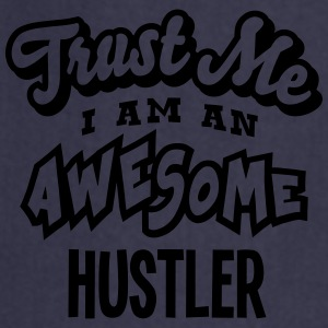 hustler trust me i am an awesome - Tablier de cuisine