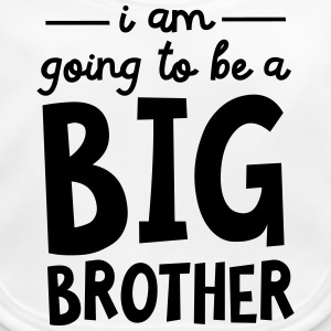 I Am Going To Be A Big Brother Skjorter - Baby biosmekke