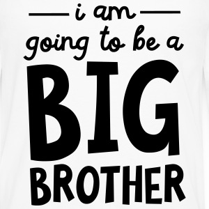 I Am Going To Be A Big Brother Shirts - Mannen Premium shirt met lange mouwen