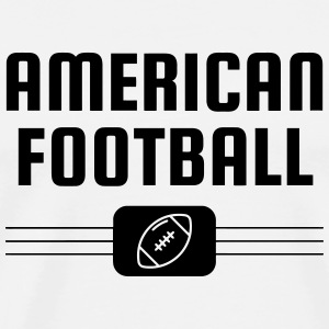 American Football - Touchdown - Rugby - Sport Mugs & Drinkware - Men's Premium T-Shirt
