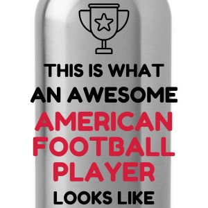 American Football - Touchdown - Rugby - Sport T-Shirts - Water Bottle