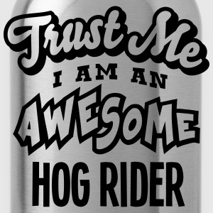 hog rider trust me i am an awesome - Water Bottle